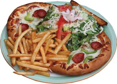 Pizza Frites Salade